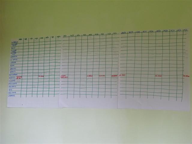 marketing schedule